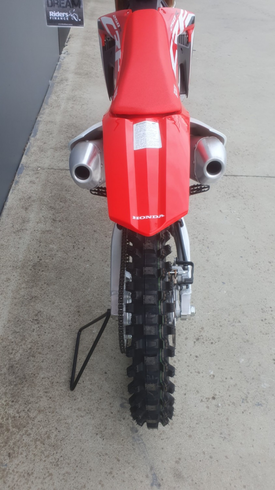 2020 Honda CRF250R TEMP 2020 CRF250R Motorcycle Image 11
