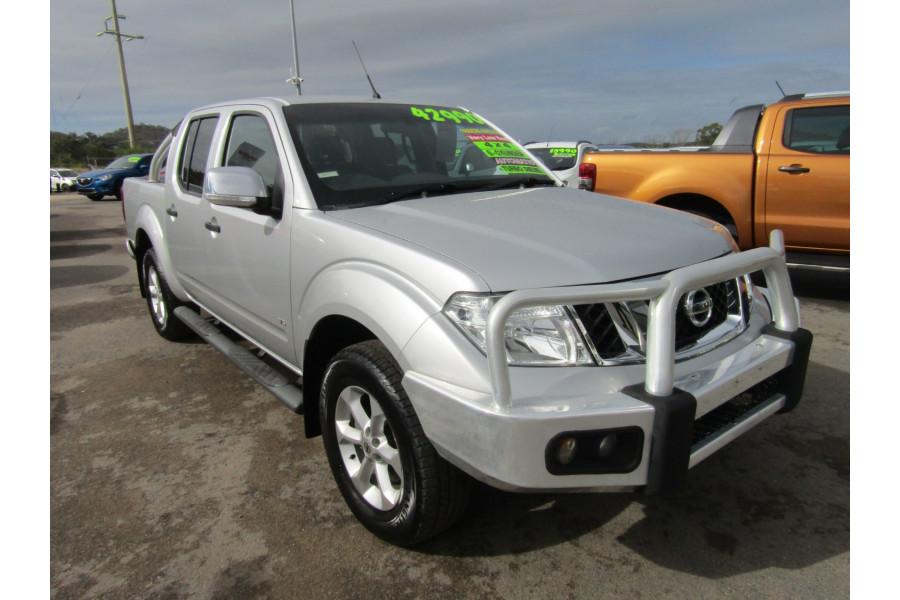 2011 Nissan Navara D40 MY11 ST-X Utility