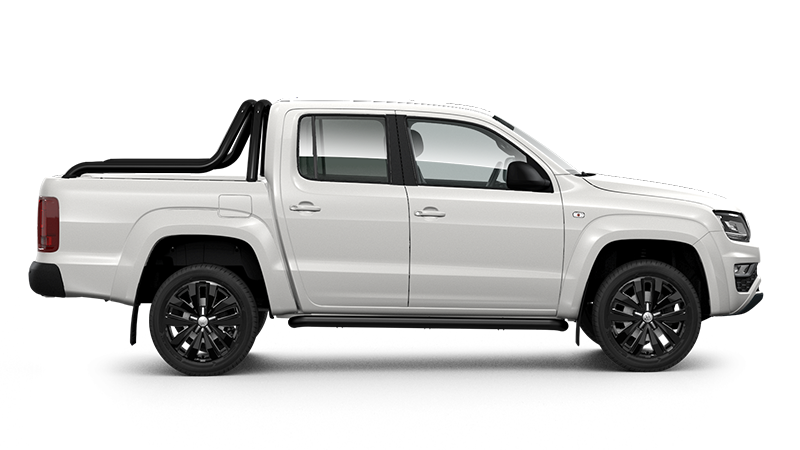 Amarok V6 Highline Black 4x4 Dual Cab TDI580 8 Speed Auto