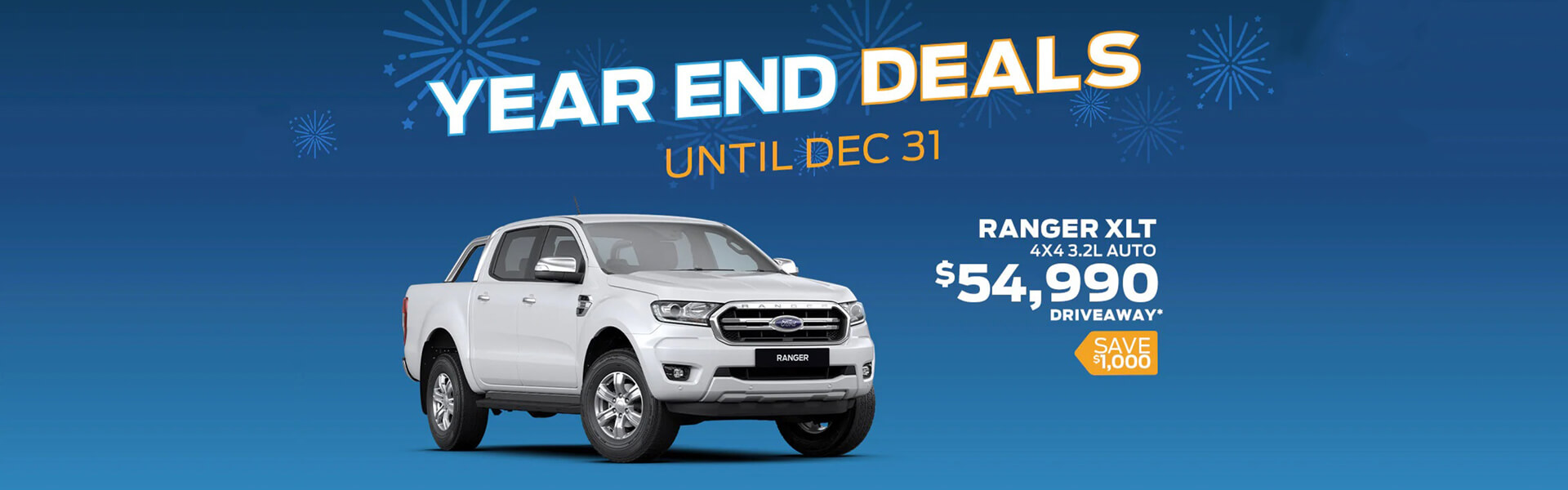 Ford Year end deals