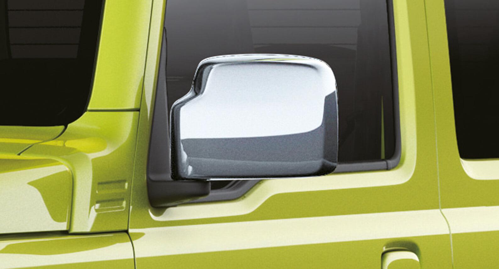 Jimny - Door Mirror Cover, Chrome