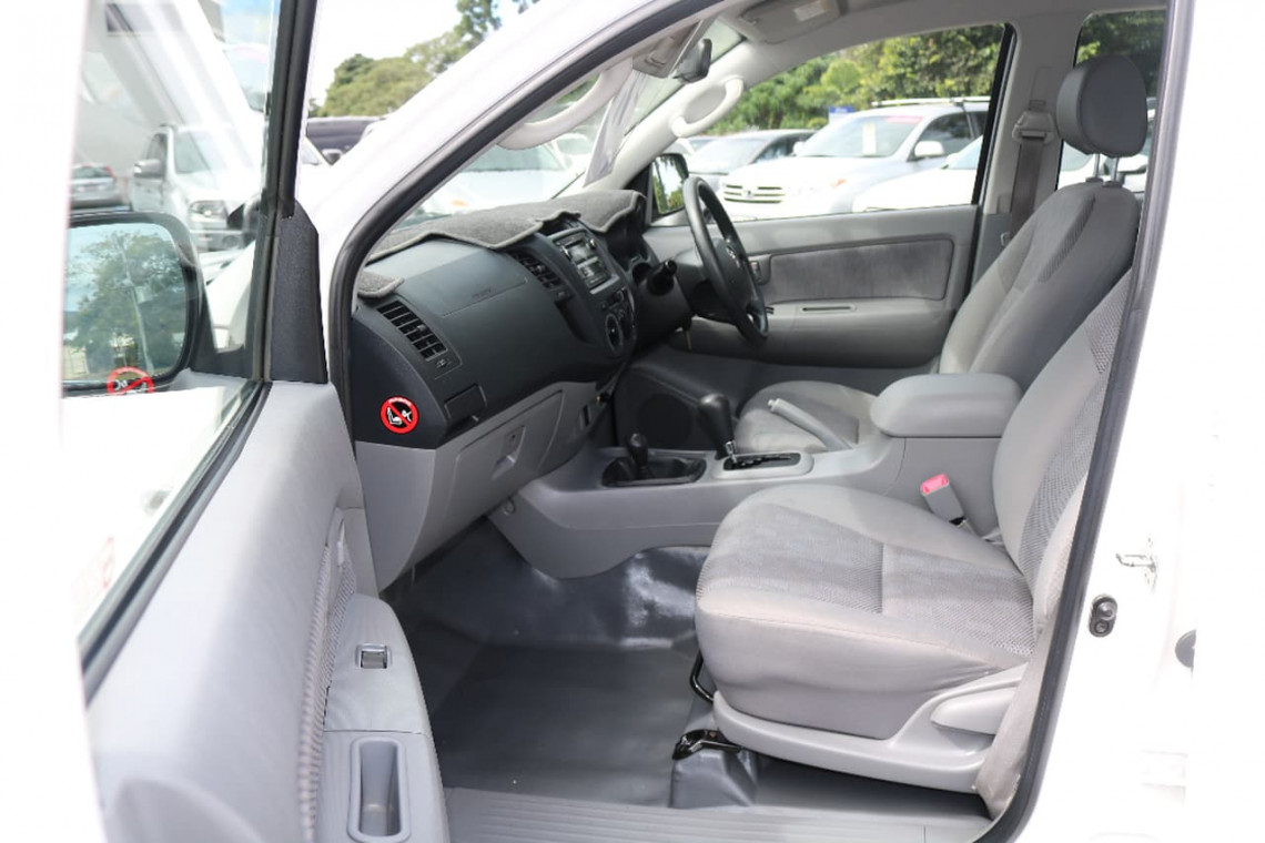 2009 Toyota HiLux KUN26R MY09 SR Utility