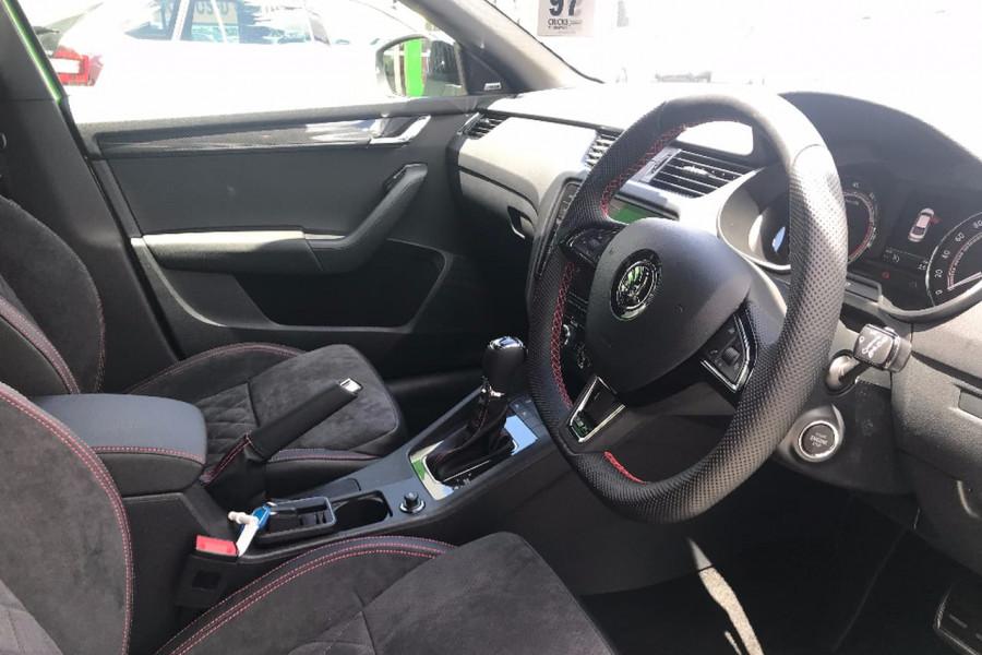 2017 MY18 Skoda Octavia NE RS Sedan Sedan