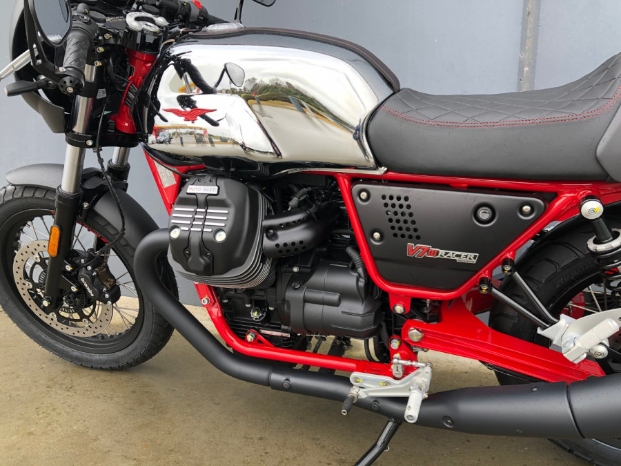 2020 Moto Guzzi V7 Racer III 10th Ann Motorcycle Image 18