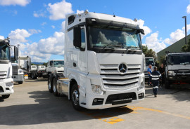 Mercedes-Benz Actros 2663 Stream Space Sleeper 6X4 PRIME MOVER 2663