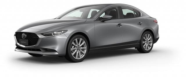 2021 Mazda 3 BP G20 Evolve Sedan Sedan Mobile Image 1