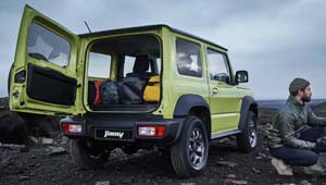 Jimny Flexible luggage