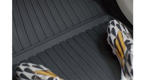 Mat, shaped passenger compartment