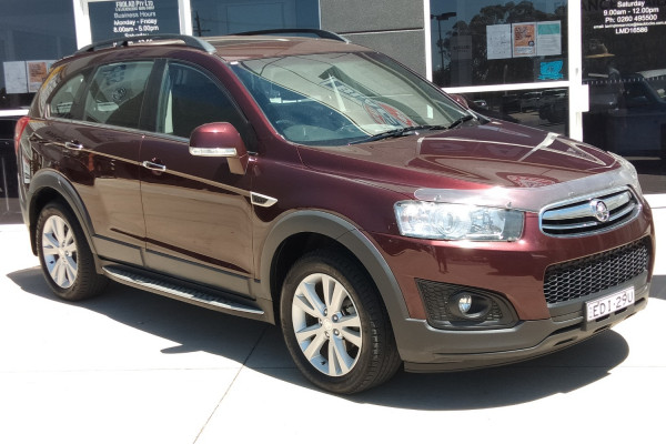 Holden Captiva 7 CG MY14