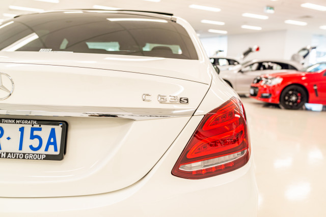 2016 MY07 Mercedes-Benz C-class W205  C63 AMG S Sedan Image 17