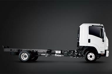 F Series 10,700KG - 14,000KG GVM economical 4 cylinder power