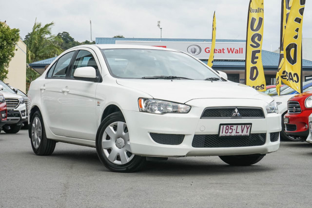 2009 Mitsubishi Lancer CJ MY09 ES Sedan