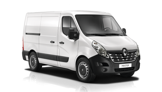 Renault MASTER Van 2018 Plate Clearance - Short Wheelbase Manual
