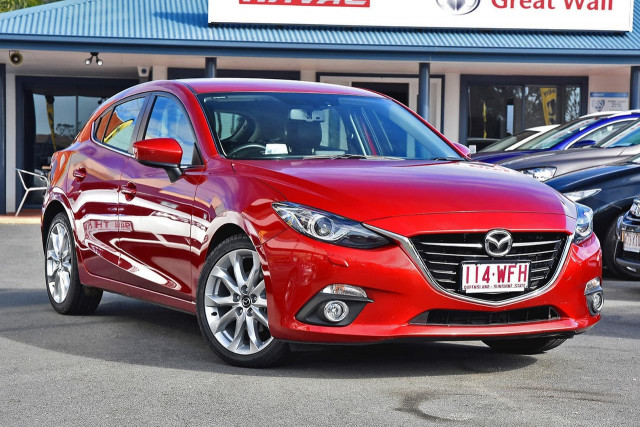 2015 Mazda 3 BM Series SP25 GT Hatchback