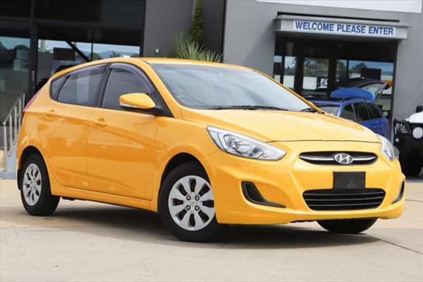 2014 Hyundai Accent RB2 MY15 Active Hatchback