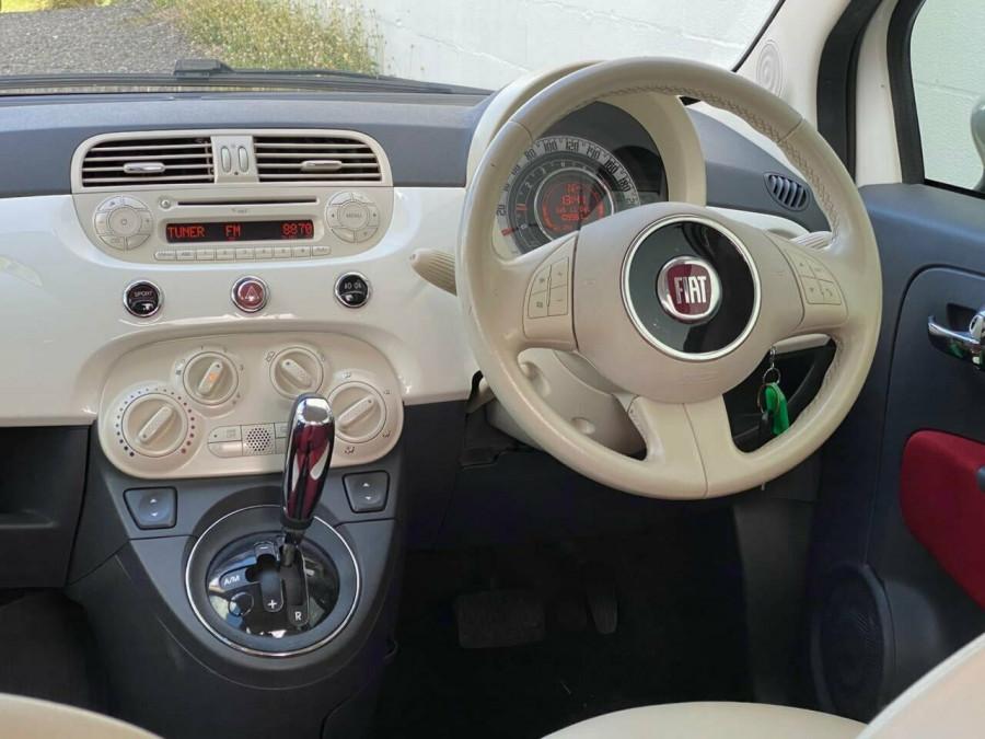 2008 Fiat 500 Series 1 Pop Dualogic Hatchback Image 11