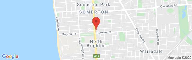 Hamilton MG - Somerton Park Map