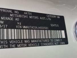 Mitsubishi Mirage ES LA