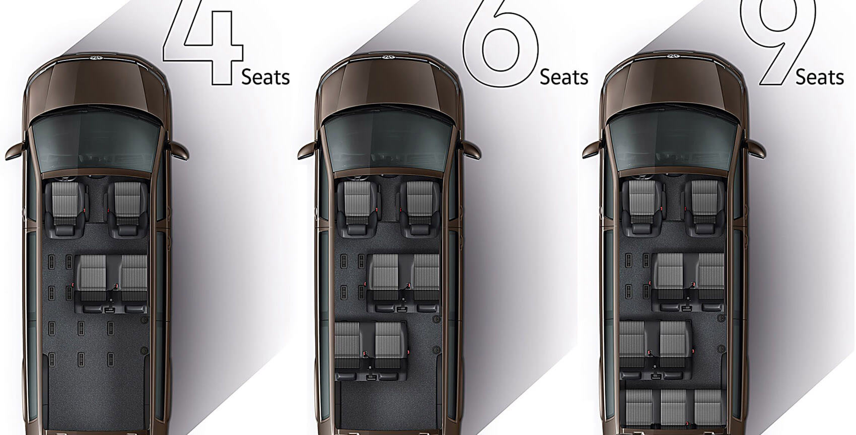 Pick ups made easy Seats Image
