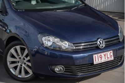 2011 Volkswagen Golf VI MY12 118TSI Cabriolet Image 3