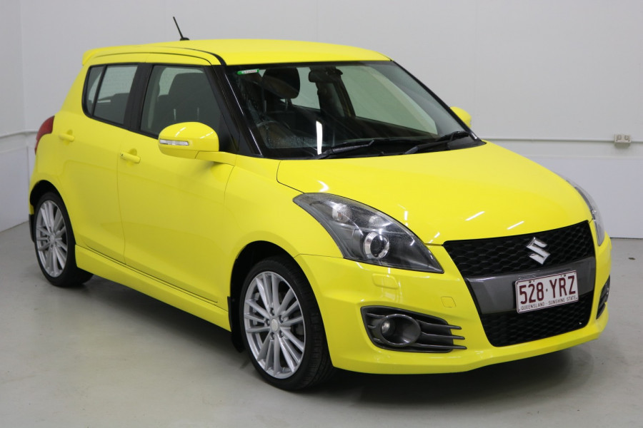 2015 Suzuki Swift FZ MY15 SPORT Hatchback Image 3