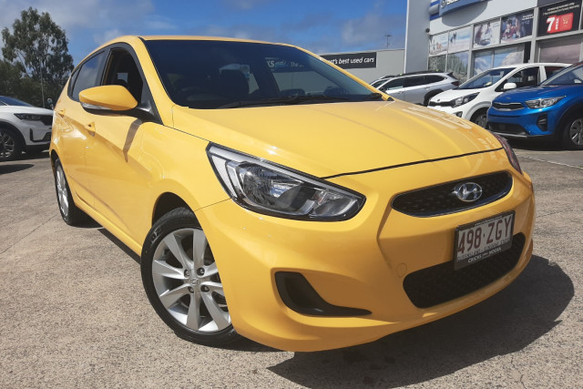 2018 Hyundai Accent RB6  Sport Hatchback