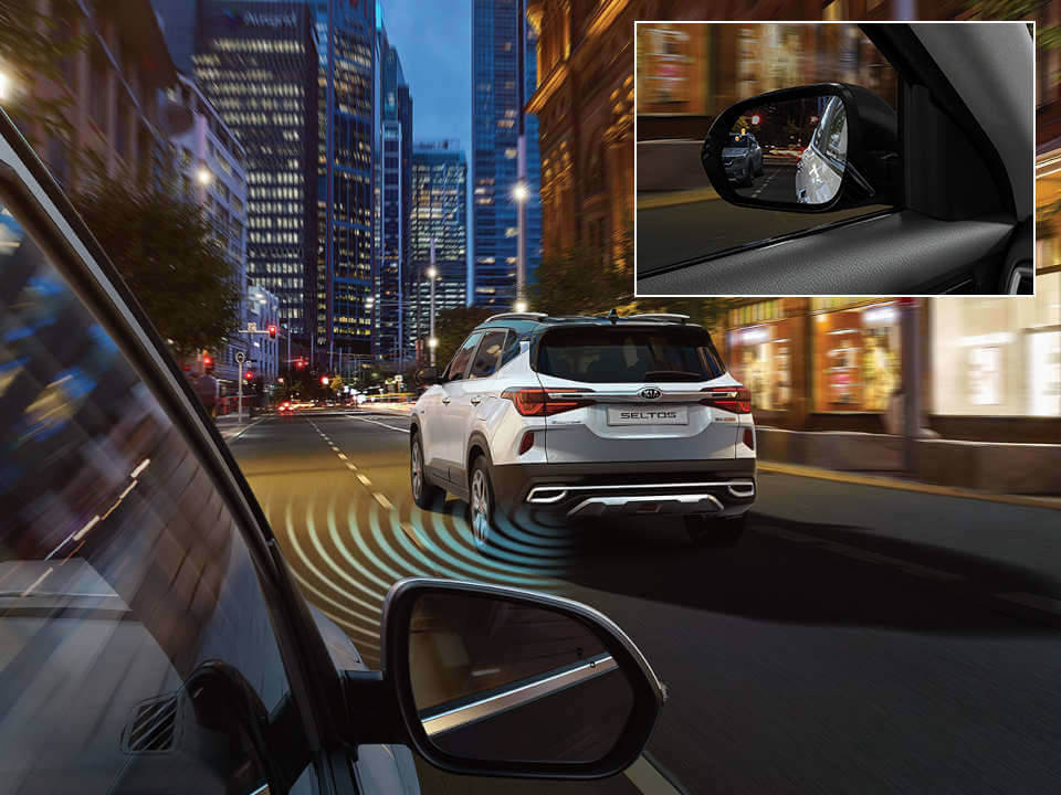 Blind Spot Collision Avoidance Assist (BCA) and Lane Change Assist (LCA)