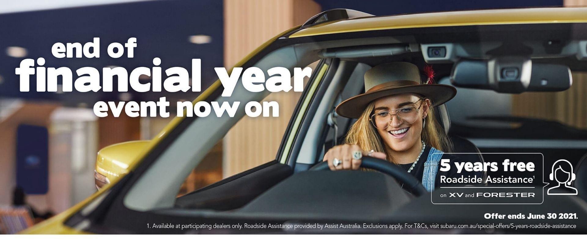 Subaru End of Financial Year Event
