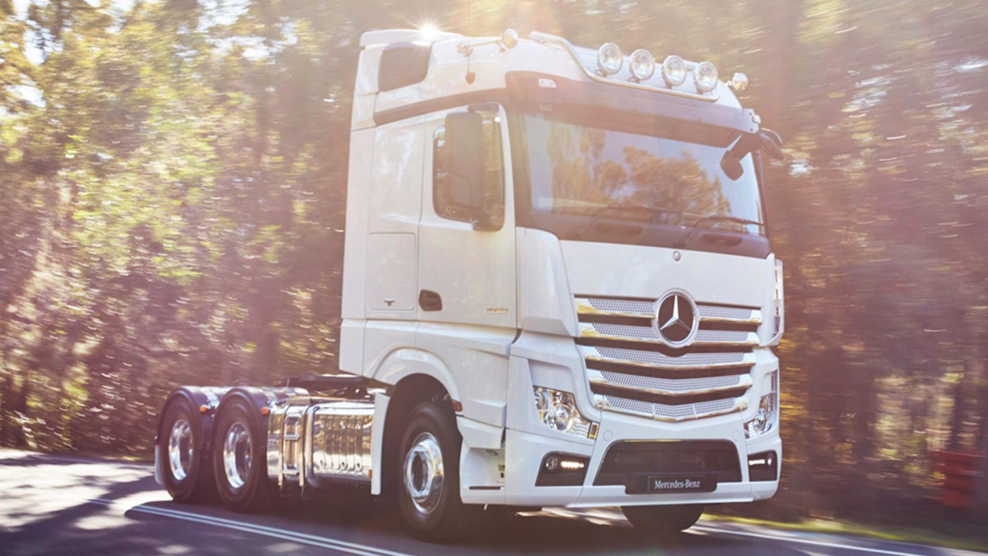 Actros Prime Movers Model Overview.