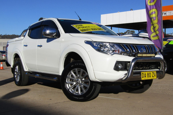 2016 MY17 Mitsubishi Triton MQ GLS Double Cab Pick Up 4WD Dual cab