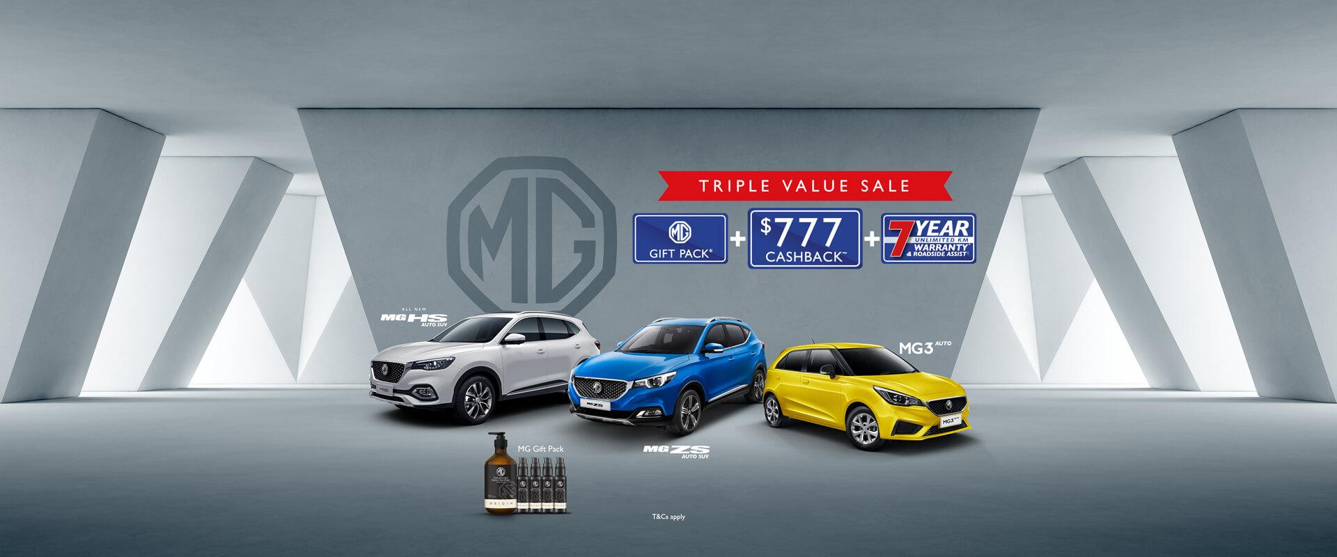 MG Triple Value Sale