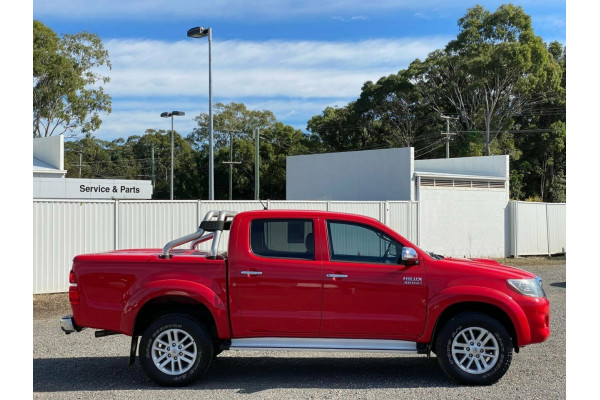 2013 MY12 Toyota Hilux GGN25R MY12 SR5 (4x4) Dual cab pick-up Image 3