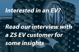 Interview with Our ZS EV Customer