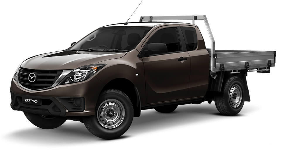 2019 Mazda BT-50 UR 4x4 3.2L Freestyle Cab Chassis XT Cab chassis