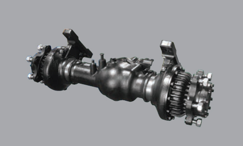 Highly Durable Split Type Drive Axle