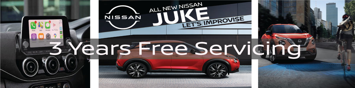 DID SOMEONE SAY....3 YEARS FREE SERVICING!!!