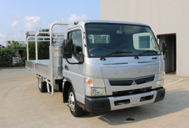 Fuso Canter 515 WIDE CAB SILVER TRADIE TRAY