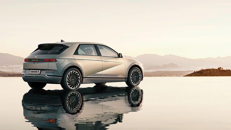 Aero-optimised wheels. Image