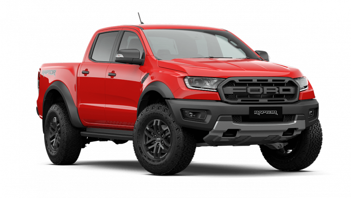 2021 MY21.25 Ford Ranger PX MkIII Raptor Utility image 1