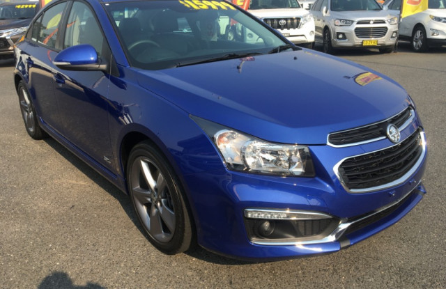 2016 Holden Cruze JH Series II Tu SRi Z-Series Sedan