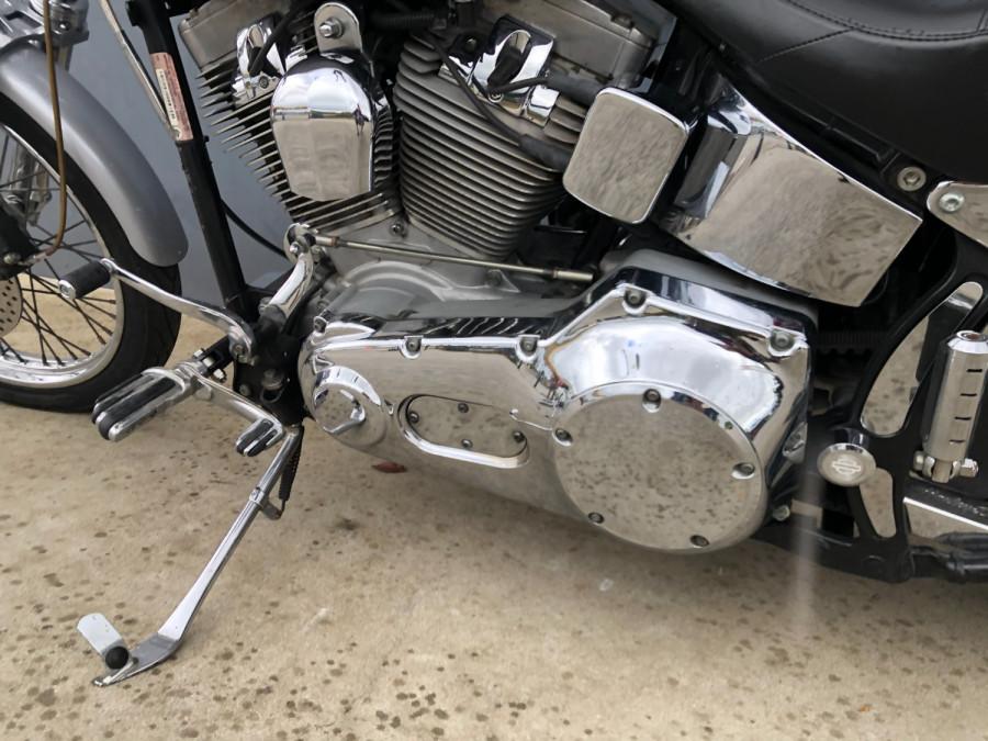 2002 Harley Davidson Softail FXST Standard Motorcycle Image 20