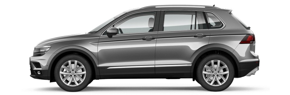 Take the Tiguan for a test drive. Image