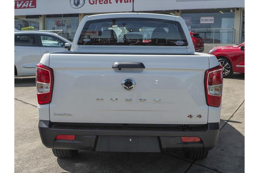 2021 SsangYong Musso Q215 Ultimate Luxury Utility