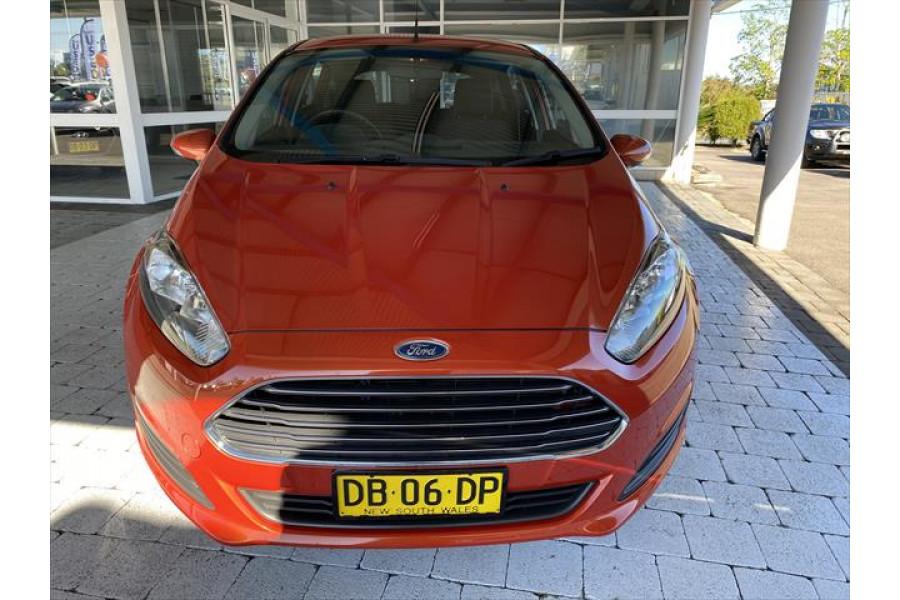 2014 Ford Fiesta WZ Ambiente Hatchback