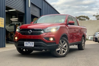 2019 MY20 SsangYong Musso XLV Q201 Ultimate Plus Utility
