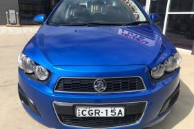 2012 MY11 Holden Barina TK MY11 Sedan