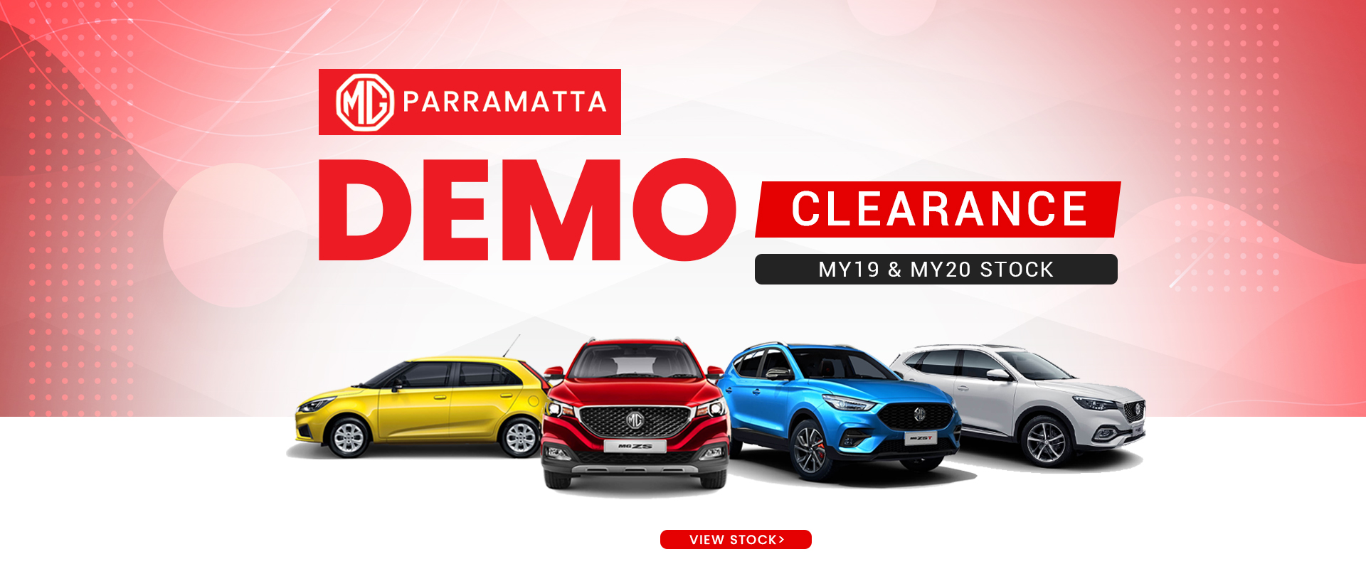 MG Demo Clearance Sale