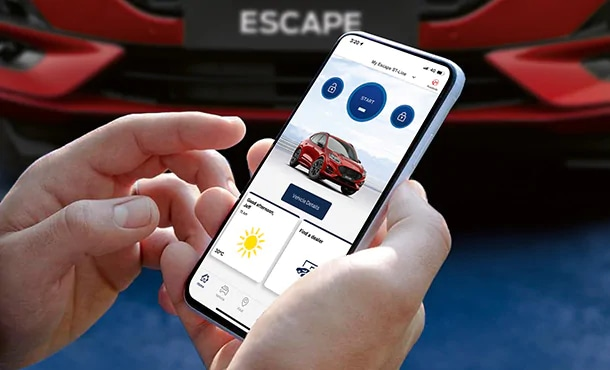 All-New Escape Clever Connectivity