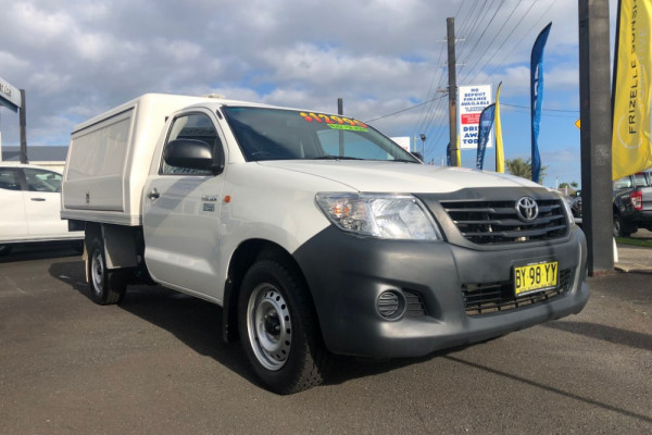 2014 Toyota HiLux TGN16R MY14 Workmate Image 3