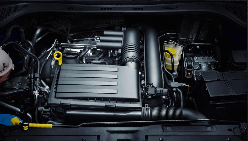 Fabia Turbocharged Engine